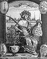 T. Bartholin, flora-silouhette of Copenhagen. Wellcome L0007762.jpg
