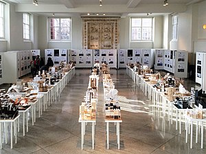 University of Illinois School of Architecture - Exhibit of student design projects, Temple Buell Architecture Gallery