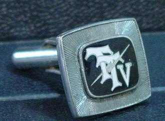 Taiwan Television - Image: TTV cufflink for senior executives 20100307