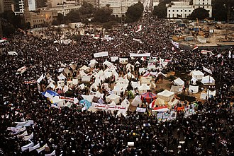 2012–13 Egyptian protests - Image: Tahrir Square on November 27 2012 (Morning)