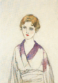 TakehisaYumeji-1931-1933-Woman Dressing Kimono.png