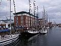 Tall ships in Hartlepool Marina - geograph.org.uk - 2193107.jpg