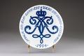 Tallrik från Kongelig Dansk Porcelainsfabrik gjord 1914 - Hallwylska museet - 93895.tif