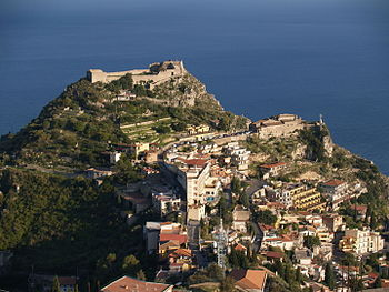 Sarazenenburg in Taormina