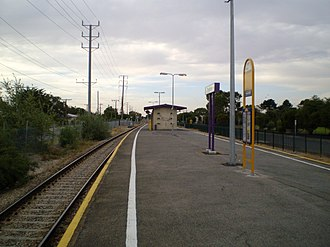 Taperoo railway station - Image: Taperoo Railway Station Adelaide