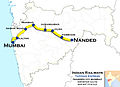 Tapovan Express (Nanded - Mumbai) Route map.jpg