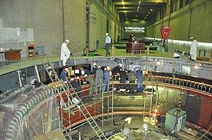 Tarbela Dam - Generators in the Tarbela Dam