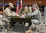 Task Force White Eagle Changes Command at FOB Ghazni 100426-F-4473M-001.jpg