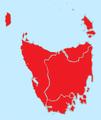 Tasmanian party divisions 2010.png