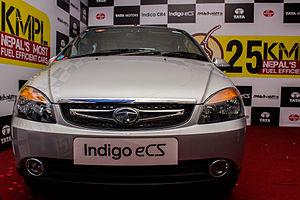 Tata Indigo - Image: Tata Indigo e CS 2014