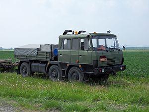 Tatra 815 - Tatra T815 TP 6x6 military version