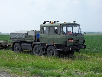 Tatra 815 - Tatra T815 TP 6x6 military version