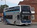 Taunton Hamilton Road - First 33825 (YP67XDA) on hire to SPS.JPG