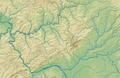 Taunus (Relief und Gewässer) - Deutsche Mittelgebirge, Serie A-de.png