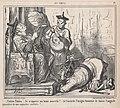Tchinn-Tchinn..., tu m'apportes une bonne nouvelle! .... je t'accorde l'insigne honeur de honneur de baiser l'auguste poussière de mes augustes souliers!...., from En Chine, published in Le Charivari, December 7, 1859 MET DP876767.jpg