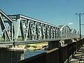 Tczew, silniční most, pohled na železniční.JPG