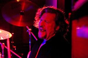 Ted McKenna - McKenna performing on 29 November 2009