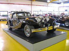 Vintage Car Collection in Tefen by Talmoryair (Own work), via Wikimedia Commons