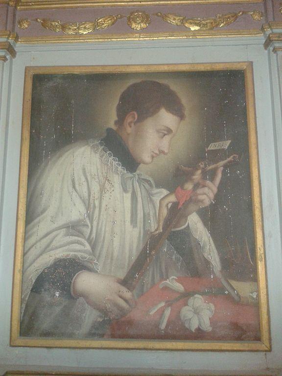 File tela seicentesca con san luigi gonzaga deruta sant for Arredo bimbo sant antonio abate