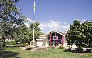 Telopea Park School - Image: Telopea Park School in Barton (1)
