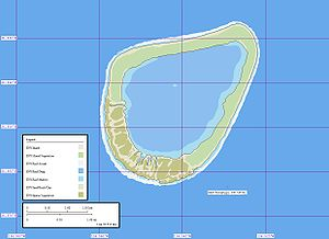 Tenarunga - Map of Tenarunga Atoll