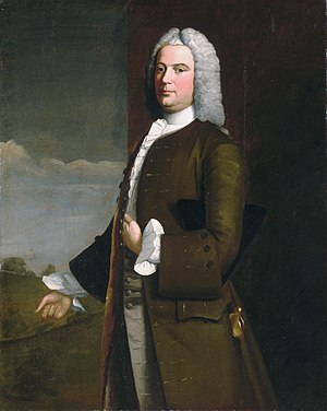 Tench Francis Sr. - Tench Francis (Robert Feke, 1746)