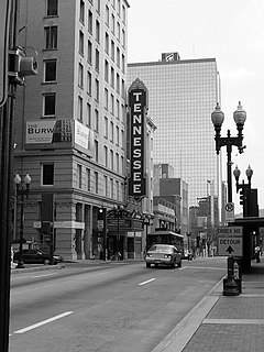 Tennessee Theatre United States historic place