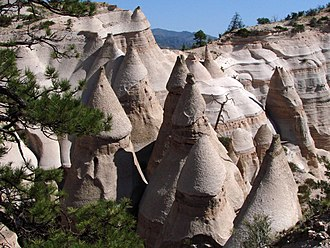 Kasha-Katuwe Tent Rocks National Monument - Image: Tent Rocks National Monument, New Mexico