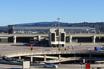 Terminal 1 AirTrain station from Terminal 3, August 2018.JPG