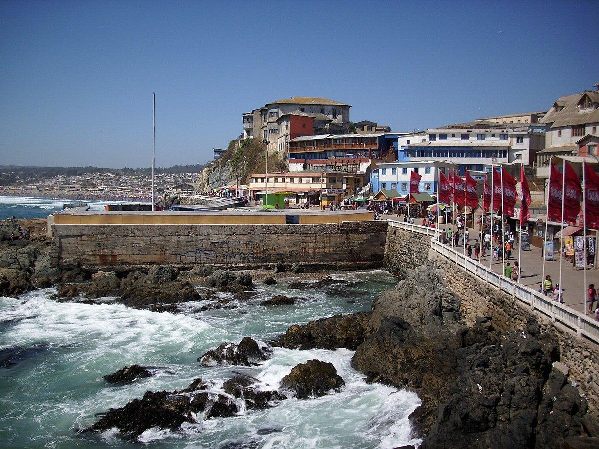 Archivo Terraza De Cartagena Chile Jpg Wikipedia La