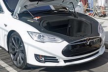 tesla model s wikipedia Tesla Model S Sunroof model s front trunk, which tesla calls the frunk