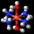 Tetraamminediaquacopper(II) cation 3D ball.png
