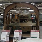 Tetrarch tank in Hamilcar glider at the Bovington Tank Museum.jpg