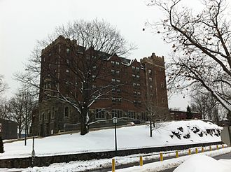 Thayer Hotel - Thayer Hotel in the winter
