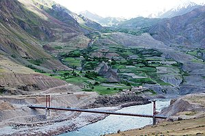 Vanj District - Image: The vanj bridge afghanistan and tajikistan