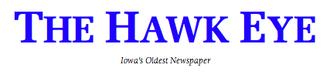 The Hawk Eye - Image: The Hawk Eye Logo