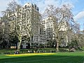 The Adelphi Building on Savoy Place from Victoria Embankment Gardens.jpg