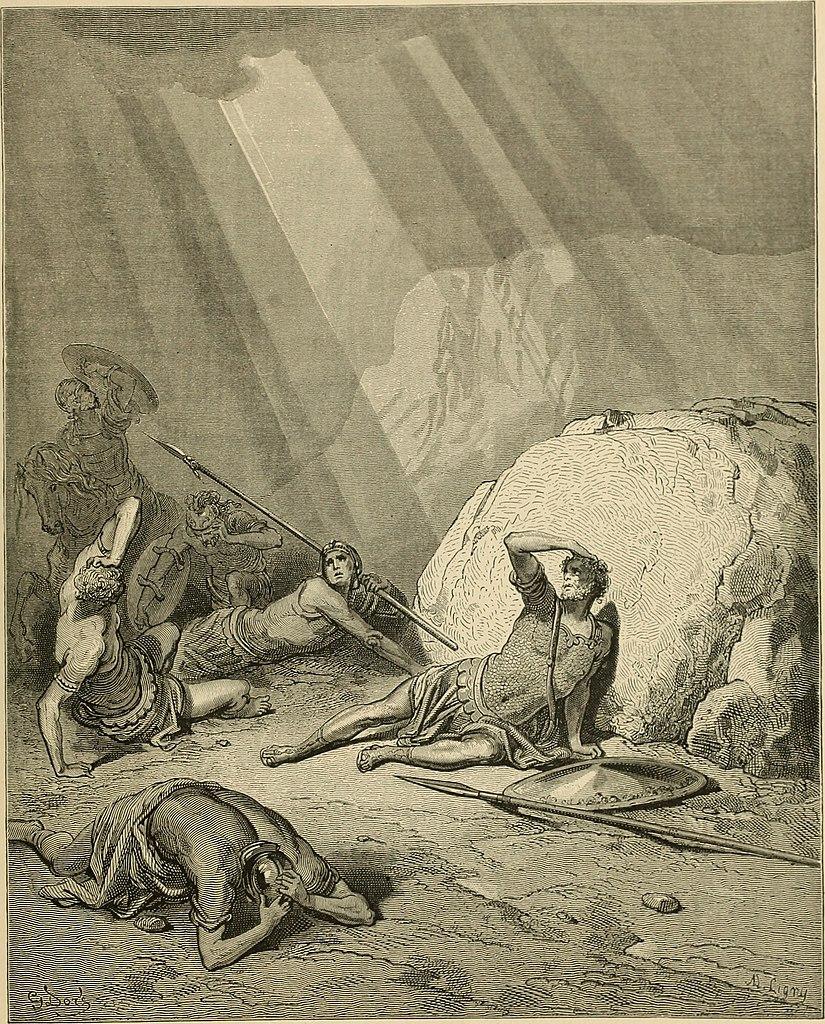 사울의 회개 (귀스타브 도레, Gustave Dore, 1866년)
