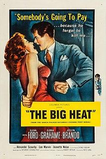 <i>The Big Heat</i> 1953 American film noir crime film by Fritz Lang