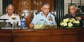 The Chief of Naval Staff, Admiral Nirmal Verma took over the Chairmanship of Chiefs of Staff Committee from outgoing Chief of Air Staff, Air Chief Marshal P.V. Naik, in New Delhi. The Chief of Army Staff.jpg