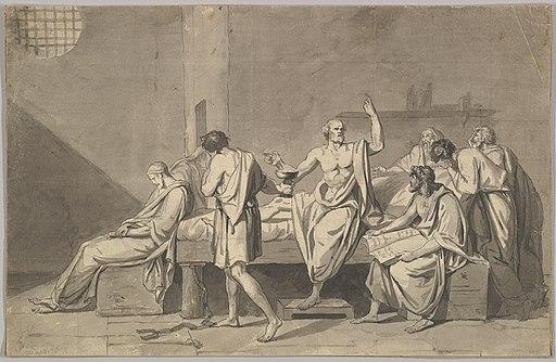 The Death of Socrates MET DP830192