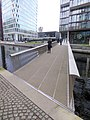 The Fan Bridge, Paddington Basin (geograph 5206652).jpg