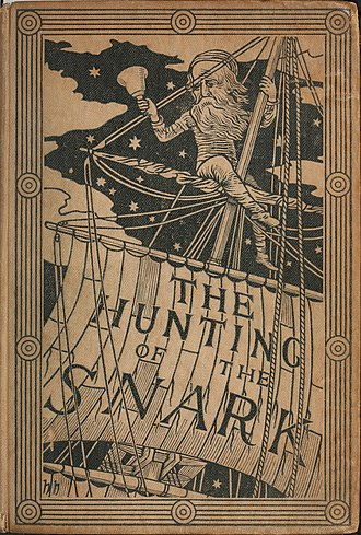 The Hunting of the Snark - Cover of first edition