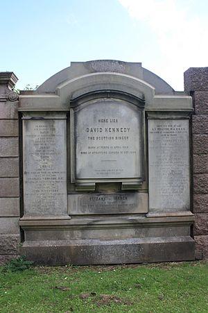 Marjory Kennedy-Fraser - The Kennedy-Fraser grave, Grange Cemetery, Edinburgh