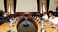 The Minister of National Defence of Afghanistan, General Abdul Rahim Wardak and the Defence Minister, Shri A. K. Antony, at the delegation level talks, in New Delhi on June 01, 2011.jpg