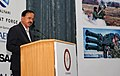 The Minister of State for Defence, Dr. Subhash Ramrao Bhamre addressing the inaugural function of Air Defence India 2018 Seminar & Exhibition, in New Delhi on July 26, 2018.JPG
