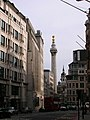 The Monument from Gracechurch Street EC3 - geograph.org.uk - 1275338.jpg