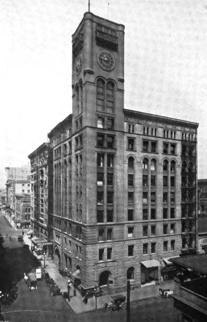 The Oregonian Building circa 1912