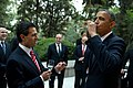 The President tastes a sip of tequila at the urging of President Enrique Pena Nieto of Mexico.jpg