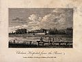 The Royal Hospital, Chelsea; viewed from the Surrey bank wit Wellcome V0012914.jpg